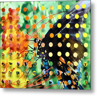 Butterfly2 Metal Print by Irmari Nacht