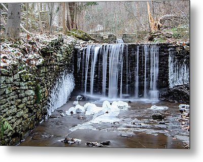 Buttermilk Falls 2 Metal Print by Anthony Thomas