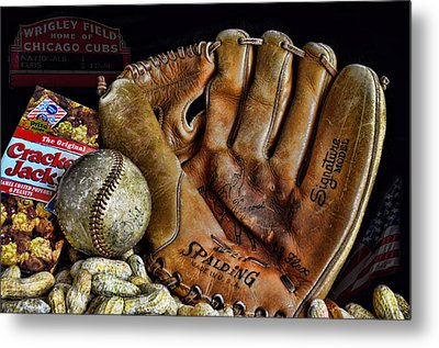 Buy Me Some Peanuts And Cracker Jacks Metal Print