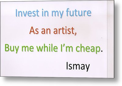 Buy Me While I'm Cheap. Metal Print by Rod Ismay