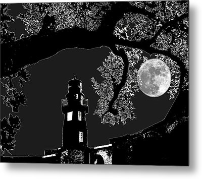 Metal Print featuring the photograph By The Light by Robert McCubbin