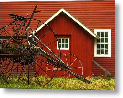 By The Mill House Version 2 Metal Print by Jack Zulli