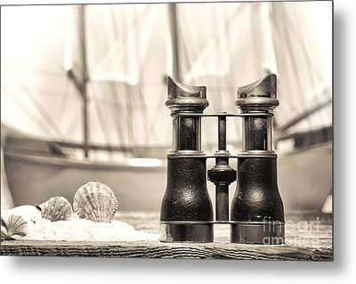 By The Sea Metal Print by Olivier Le Queinec