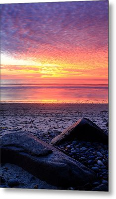 By The Shore Metal Print by Eric Foltz