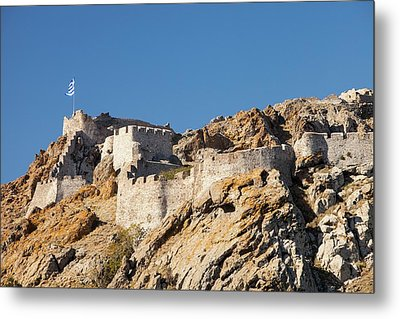 Byzantine Castle Metal Print by Ashley Cooper