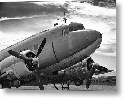 C-47 Skytrain Metal Print by Guy Whiteley