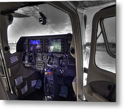 C A P Cessna 182 Skylane G1000 Fsx V1 Metal Print