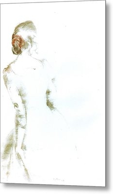 C11. Ballet Dancer Metal Print