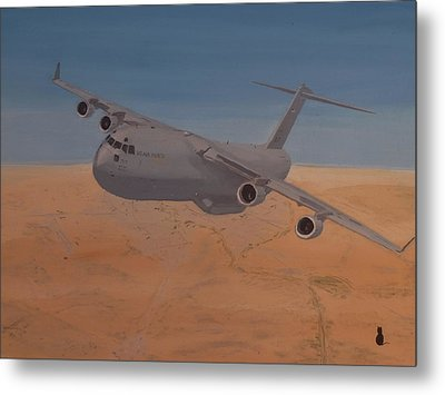 C17 Out Of Baghdad Metal Print by Jonathan Laverick