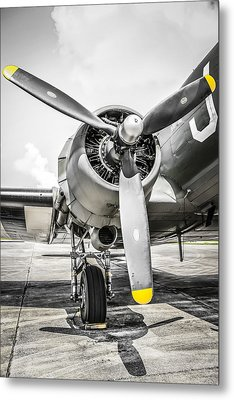 C47 Dakota Radial Metal Print