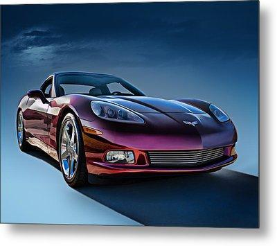 C6 Corvette Metal Print by Douglas Pittman