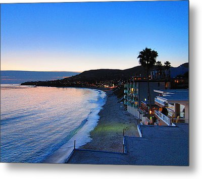 Ca Beach - 121238 Metal Print by DC Photographer