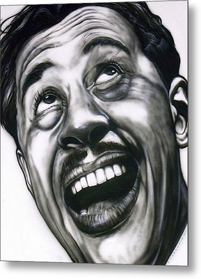 Cab Calloway Metal Print by Mike Underwood