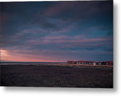 Cabanes Metal Print by Thierry Bouriat