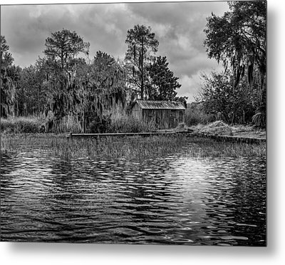 Cabin Metal Print by David Mcchesney
