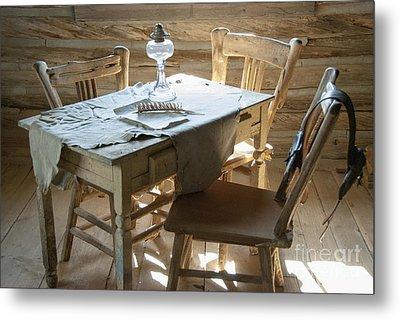 Cabin Room Metal Print by Juli Scalzi