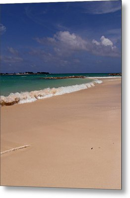 Cable Beach Bahamas Metal Print by Kimberly Perry