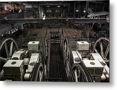 Cable Car Barn In San Francisco Metal Print by RicardMN Photography