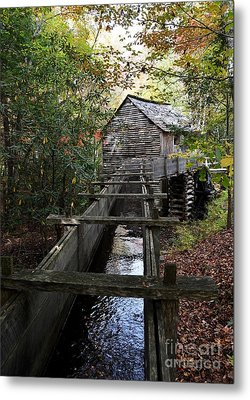 Cable Grist Mill 3 Metal Print by Mel Steinhauer