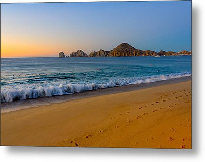 Cabo San Lucas Morning Metal Print by Mark Goodman
