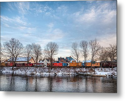 Metal Print featuring the photograph Cabooses by Robert Clifford