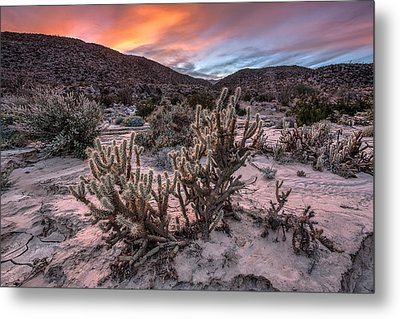Cac-dusk Metal Print by Peter Tellone