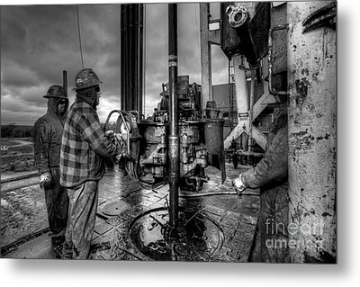 Cac001bw-36 Metal Print by Cooper Ross