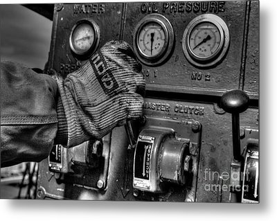 Cac001bw-8 Metal Print by Cooper Ross