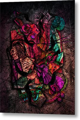 Cacophony In Z Minor Metal Print