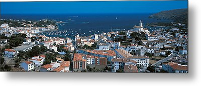 Cadaques Costa Brava Spain Metal Print by Panoramic Images