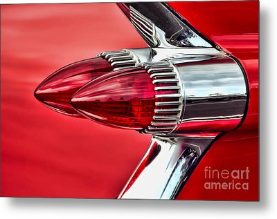 Caddy Delight Metal Print