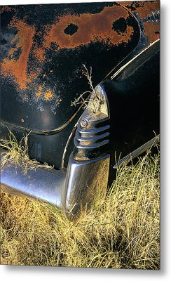 Caddy Tail Fin Metal Print
