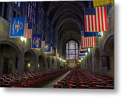 Cadet Chapel At West Point Metal Print
