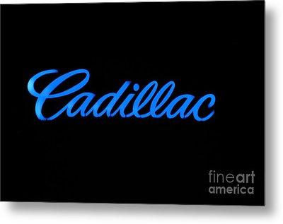 Cadillac Metal Print by Andres LaBrada