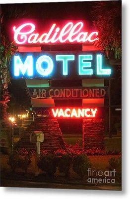 Cadillac Motel Metal Print
