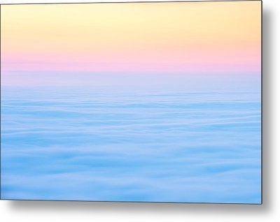 Metal Print featuring the photograph Cadillac Mountain In Pastels by Bernard Chen