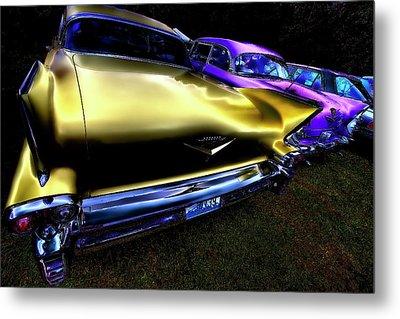 Cadillacs Metal Print by David Patterson