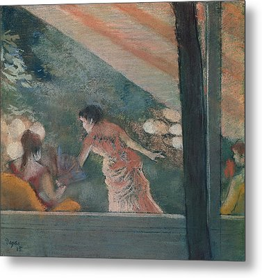 Cafe Concert At The Ambassadeurs Metal Print