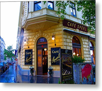 Cafe Sperl Vienna Metal Print