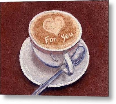 Caffe Latte Metal Print by Anastasiya Malakhova