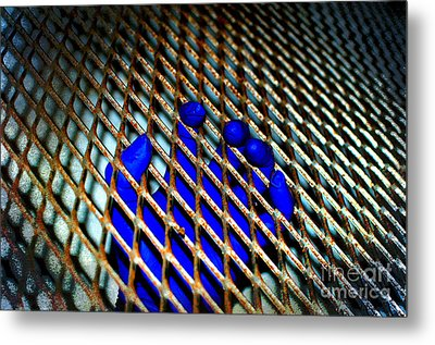 Caged Metal Print by The Stone Age