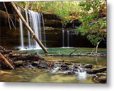 Cainey Creek Falls Metal Print by Scott Moore