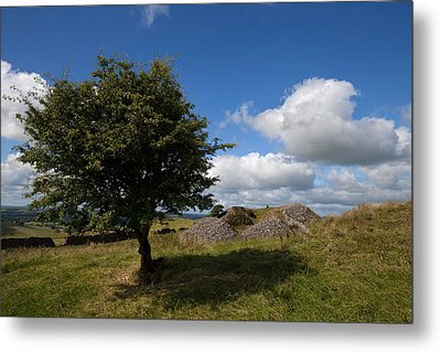 Cairn D On Carbane West, Loughcrew Metal Print by Panoramic Images