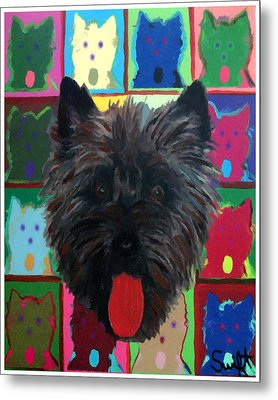 Cairn Terrier Metal Print by Char Swift