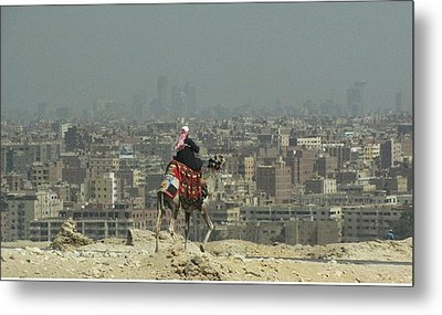 Cairo Egypt Metal Print by Jennifer Wheatley Wolf
