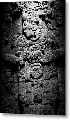 Calakmul Stella 51 Metal Print by John  Bartosik