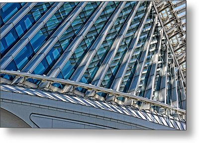 Calatrava In The Morning Metal Print by Mary Machare