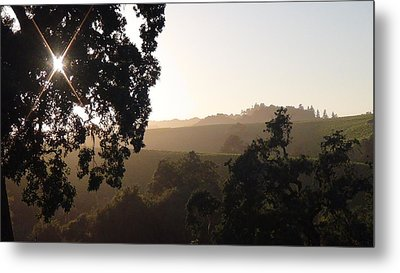 Metal Print featuring the photograph Cali Sun Set by Shawn Marlow