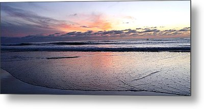 Cali Sunset Metal Print