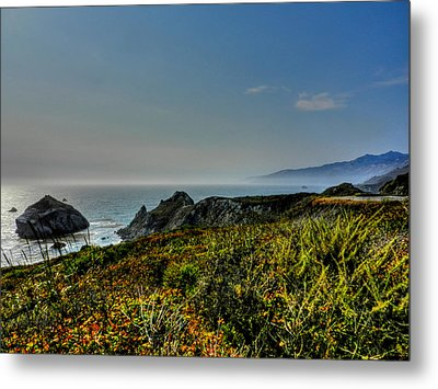 California - Big Sur 003 Metal Print by Lance Vaughn